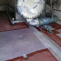 traanplaat vloer reparatie corrosiebescherming