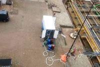 polyurea hotspray pomp lekkage dakbedekking
