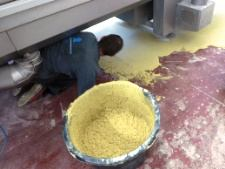 ucrete ud200 industriele vloer aanbrengen